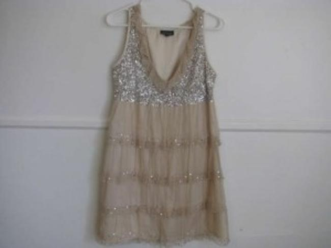 Topshop Sequins Flapper Ruffles New Year's Eve Dress
