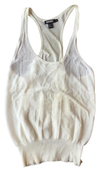 DKNY Top Off White