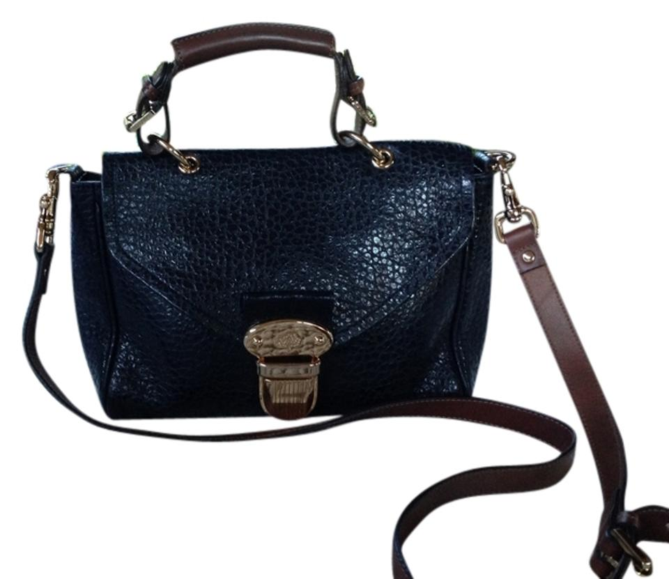 b6bcb979b3 Mulberry Navy Blue Leather Cross Body Bag - Tradesy