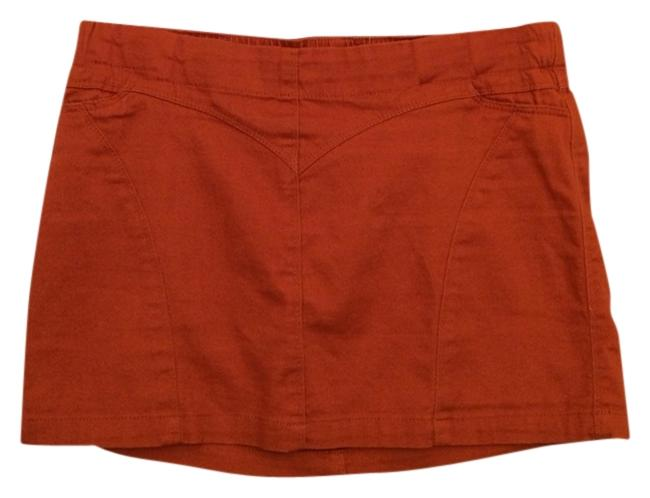Très Chic Skirt Burnt Orange