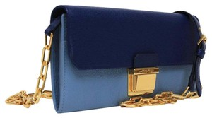 Miu Miu Prada Leather blue Clutch