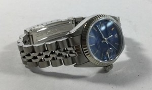 Rolex Rolex Oyster Perpetual Date-Just Blue Dial