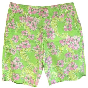 Lilly Pulitzer Bermuda Shorts Green