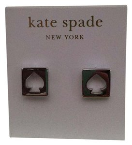 Kate Spade Kate Spade Silver Stud Cutout Earrings