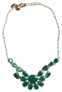 Kate Spade Kate Spade Jade Emerald Statment Necklace