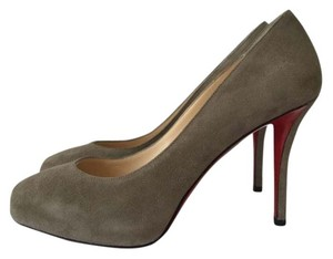 Christian Louboutin So Kate Pigalle Follies Grey Pumps