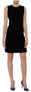 Victoria Beckham short dress Black Sleeveless Wool Shift on Tradesy