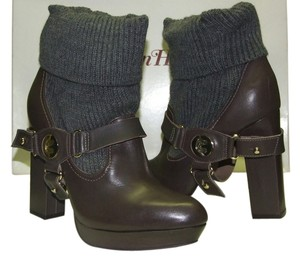 Madison Harding Highheelboots Ankleboots Graceboots Grace Elegant Elegant Leatherboots Leatherbooties Brown Boots