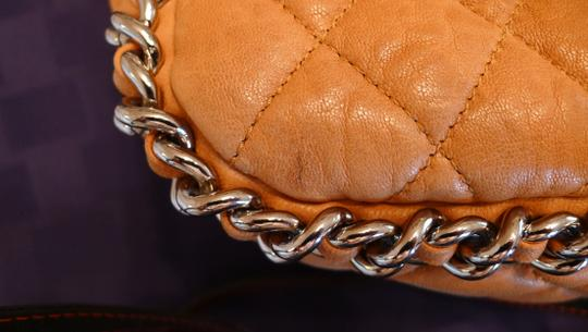 Chanel Chainaround Silver Jumbo Shoulder Bag