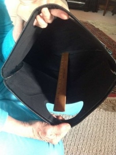 Fendi Patent Leather Tote in Vintage Multi/black