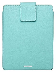 Tiffany & Co. Tiffany & Co Blue Leather iPad/ Tablet Cover