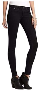 Rag & Bone Velvet Stretchy Denim Skinny Jeans