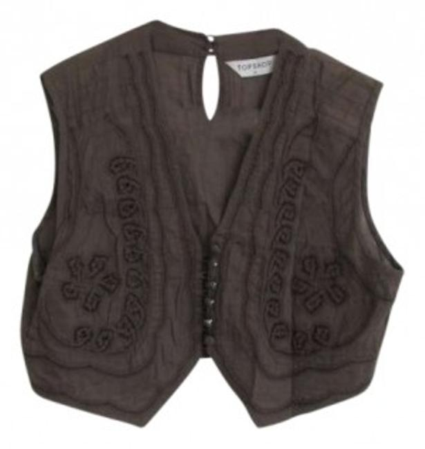 Preload https://item3.tradesy.com/images/topshop-taupe-bohemian-cotton-bolero-shrug-vest-size-8-m-159962-0-0.jpg?width=400&height=650