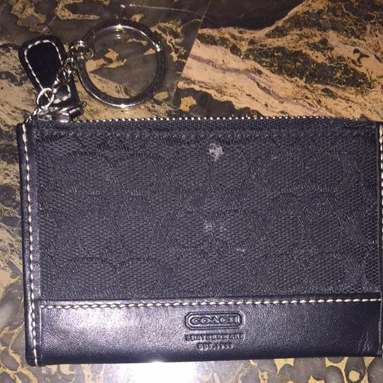 Coach Coach Wallet With Keychain Image 1