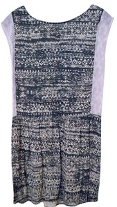 Urban Outfitters short dress Purple, black, white on Tradesy