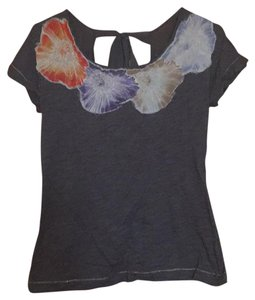 Anthropologie Top Grey