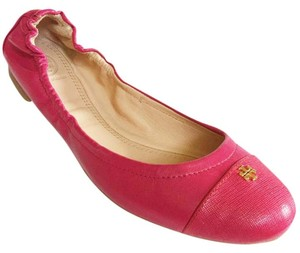 Tory Burch CARNATION RED/ PINK Flats