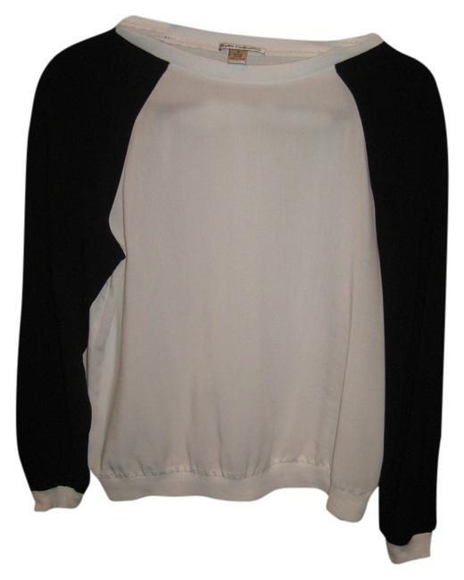 Dalia Top Black and White