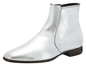 Tom Ford Silver Boots