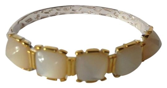 Kara Ross KARA ROSS AUTHENTIC NWT 18K GOLD & STERLING SILVER WITH MOTHER OF PEARL BANGLE