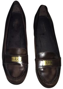 Coach Brown Flats
