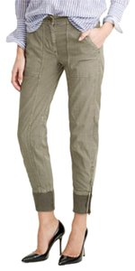 J.Crew J. Crew Cotton Green Cargo Pants Dusty Sage