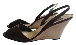 Anne Klein Burgundy-brown Wedges
