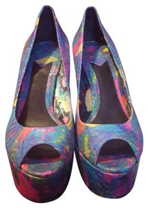 Brian Atwood Snakeskin Multi Pumps