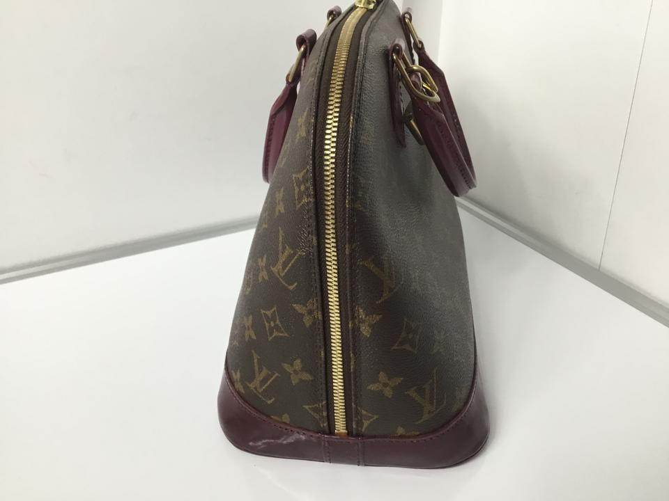 e69876a74b10 Louis Vuitton Alma Handmade Dyed with Dustbag Lock and Key Canvas Monogram  Hobo Bag - Tradesy