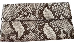 Brooks Brothers Lizard Chic Party Casual Lizard skin Clutch