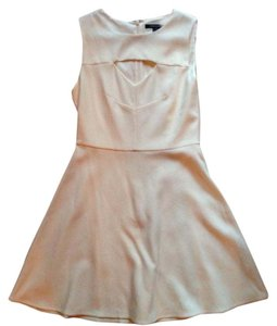 French Connection Wedding White Cocktail Dress