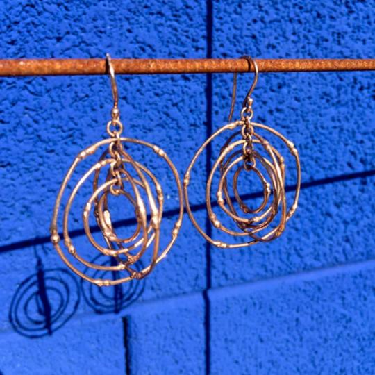 South African Stunning South African rose gold earrings Image 1