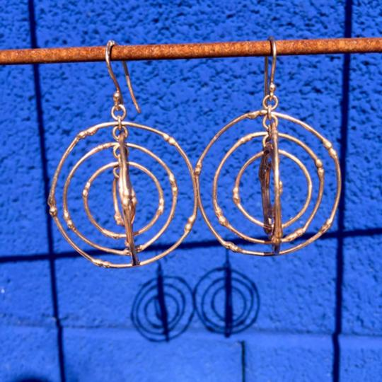 South African Stunning South African rose gold earrings Image 4
