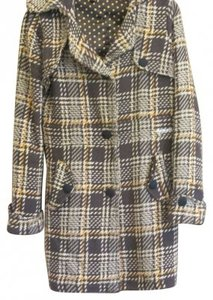 Element Surf Brand Polka Dot Lining Style Trench Coat