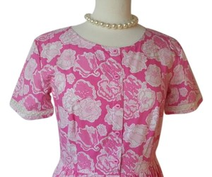Lilly Pulitzer short dress Peony Pink Vintage Lilly 1990's Lilly on Tradesy