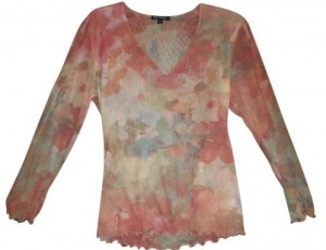 Therapy Top Coral & Yellow