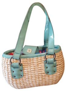 Liz Claiborne mint Beach Bag