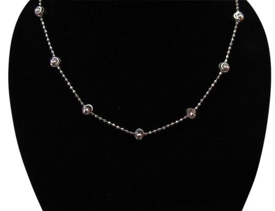 Preload https://item2.tradesy.com/images/silver-italy-925-sterling-diamond-cut-beads-chain-necklace-1600086-0-0.jpg?width=440&height=440
