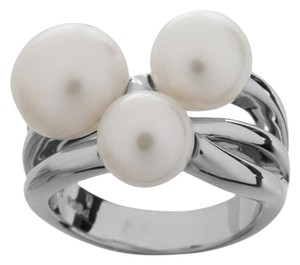 Honora Honora Cultured Freshwater Pearl Cluster Sterling Silver Ring - Size 6