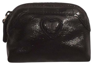 Brighton Coin Purse Patent Leather W/Embossed Croc/Gator