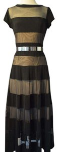 Black Maxi Dress by R & M Richards