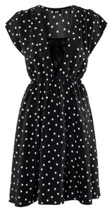 H&M short dress Black And White on Tradesy