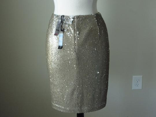 35b729fefa88 best White House | Black Market New With Tags Goldtone Champagne Tone Sequin  Pencil Size 6