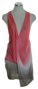 Young Fabulous & Broke Draped Ombre Racerback Tunic