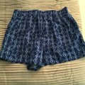 Forever 21 Mini/Short Shorts Blue Image 3