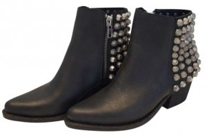 Jeffrey Campbell New Studded Leather Lf Limited Edition Black Boots