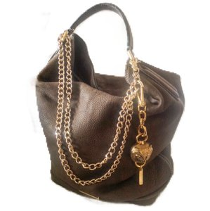 Burberry Shoulder Leather Large Leather Bucket Nubuck Bucket Hobo Bag