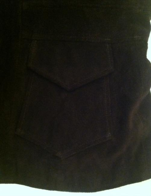Banana Republic Suede Brown Blazer