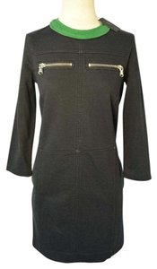 Marc Jacobs short dress Navy with green trim on Tradesy