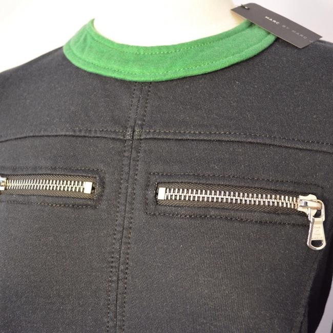 Marc Jacobs short dress Navy with green trim on Tradesy Image 3
